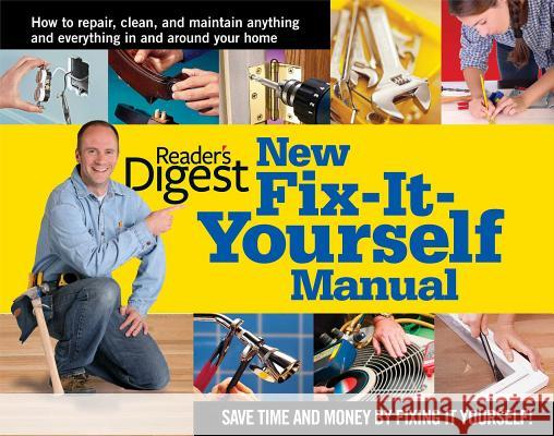 New Fix-It-Yourself Manual Reader's Digest 9780895778710