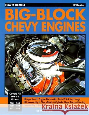 How to Rebuild Big-Block Chevy Engines Tom Wilson 9780895861757