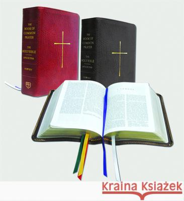 The Book of Common Prayer and the Holy Bible New Revised Standard Version: Red Bonded Leather Church Publishing 9780898695793