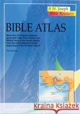 Bible Atlas Tim Dowley 9780899426549