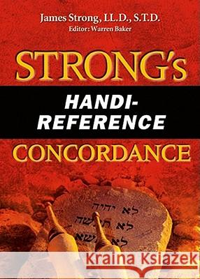 Strong's Handi-Reference Concordance James Strong Warren Baker 9780899571195