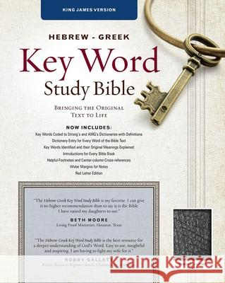 Hebrew-Greek Key Word Study Bible-KJV Spiros Zodhiates 9780899577463