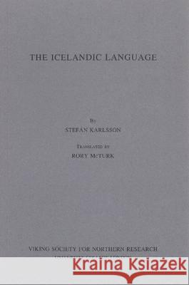 Icelandic Language Stefan Karlsson 9780903521611