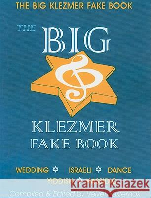 The Big Klezmer Fake Book Helen Lanfer 9780933676008