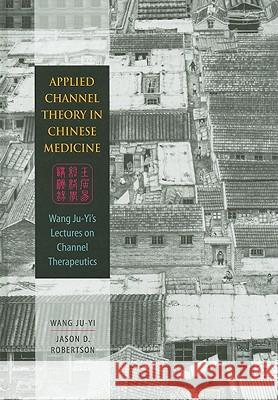 Applied Channel Therapy in Chinese Medicine: Wang Ju-Yi's Lectures on Channel Therapeutics Ju-Yi Wang 9780939616626