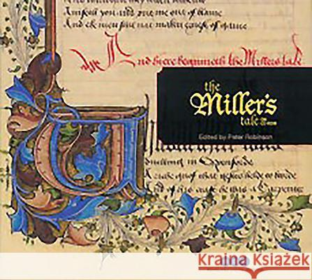 The Miller's Tale on CD-ROM: Individual Licence Geoffrey Chaucer Peter Robinson Lorna Stevenson 9780953961023 Scholarly Digital Editions
