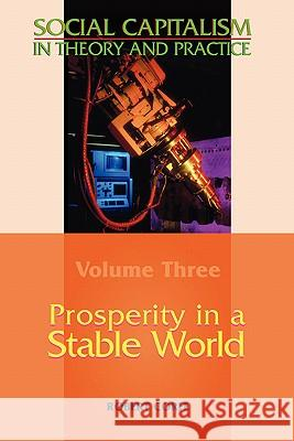 Prosperity in a Stable World--Volume 3 of Social Capitalism in Theory and Practice Robert Corfe 9780955605550