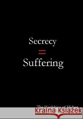 Secrecy = Suffering: The Hardships of Hiding Dennis Meredith 9780960049127