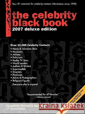 Celebrity Black Book : Over 55,000 Accurate Celebrity Addresses Jordan McAuley 9780970709585