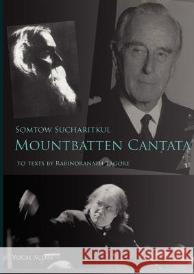 Mountbatten Cantata Vocal Score Somtow Sucharitkul 9780980014952