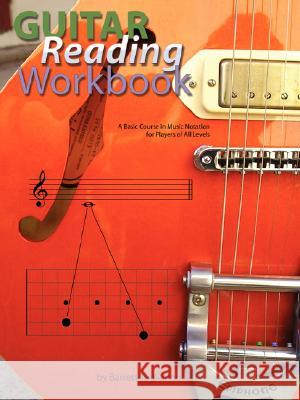 Guitar Reading Workbook Barrett Tagliarino 9780980235302 Behemoth Publishers