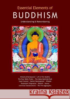 Essential Elements of Buddhism Stefan Mager   9780980843385