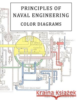 Principles of Naval Engineering Addendum - Color Diagrams Of Naval Pers Burea 9780982585443