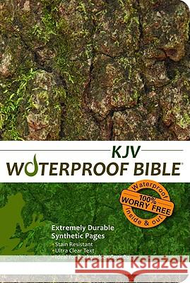 Waterproof Bible-KJV-Tree Bark Bardin & Marsee Publishing 9780984085736 Bardin & Marsee Pub