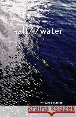 Salt/ /Water William Marshe 9780990356516
