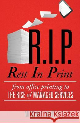 Rest in Print Mitchell Filby   9780992364502