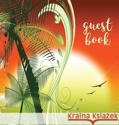 Guest Book (Hardback), Visitors Book, Guest Comments Book, Vacation Home Guest Book, Beach House Guest Book, Visitor Comments Book, House Guest Book: Angelis Publications 9780995651692