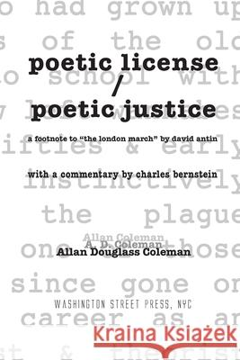 poetic license / poetic justice: a footnote to