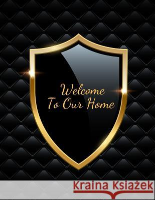 Welcome to Our Home: Open House Sign In Record Book - Message for visitors - Home Warming Parties - Birthday - Events and Special Occasions Jason Soft 9781070136028