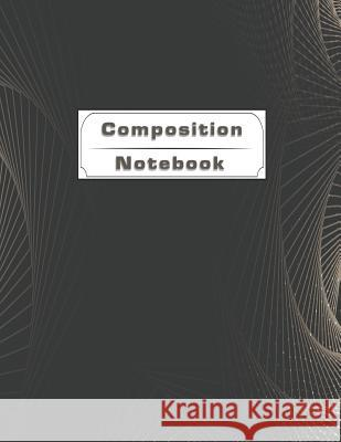 Composition Notebook: Dot Grid Interior Dark Abstract Tech Background Design Cover for Strong Learning and Sharing Notes Na Dam 9781070305660