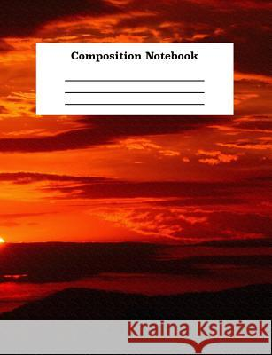 Composition Notebook: For School Kids and Adults Creative Writing and Homework Assignments College Ruled Line Paper Sketches Brin 9781071322765