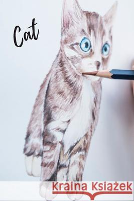 Cat: Notebook, Journal, Diary (110 Pages, Unlined, 6 x 9) (Animal Glossy Notebook) Animal Glossy Notebook 9781072726081