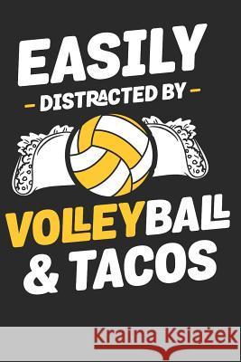 Easily Distracted by Volleyball: Volleyball Paperback Journal, Composition Book College Wide Ruled, Gift for Coach, Teen, Girls, Boys, Player. Ideal f Volleyball Dude 9781074173197
