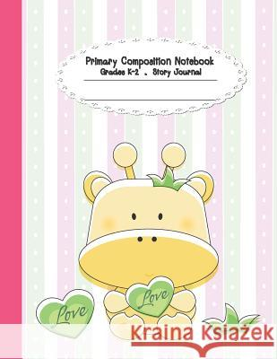Primary Composition Notebook: Primary Composition Notebook Story Paper - 8.5