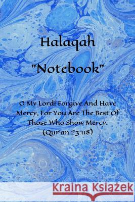 Halaqah Notebook Imani Necessities 9781075039744