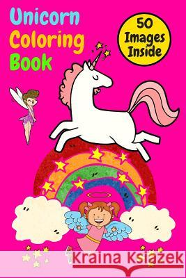 Unicorn Coloring Book: Great Coloring Book For Kids also girls and boys, many great compositions for children, many hours of great developing Matthew Mastermindman 9781075388149