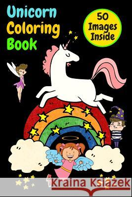 Unicorn Coloring Book: Great Coloring Book For Kids also girls and boys, many great compositions for children, many hours of great developing Matthew Mastermindman 9781075391866