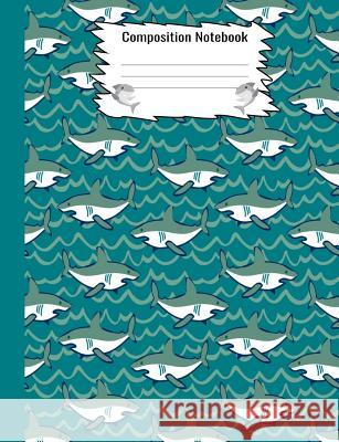 Composition Notebook: Shark Pattern Notebook For Kids Notebooks by Someda 9781076025883