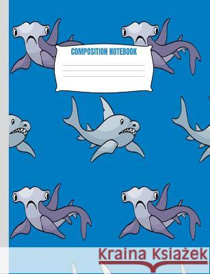 Composition Notebook: Shark Pattern Notebook For Boys Notebooks by Someda 9781076042354
