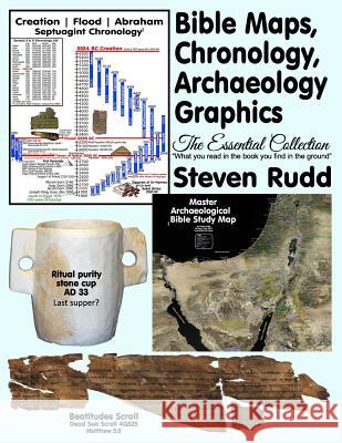 Bible Maps, Chronology, Archaeology Graphics: The Essential Collection Steven Rudd 9781080051977