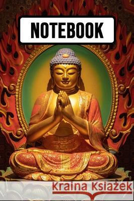 Notebook: Buddha Journal / Diary / Notepad / Planner For School And Daily Use, Unique Buddha Gifts Pink Panda Press 9781080418404