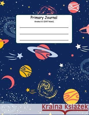 Primary Journal Grades K-2: Primary Composition Books K-2. Picture Space And Dashed Midline, Primary Composition Notebook, Composition Notebook fo Jennifer W. R. 9781080531387