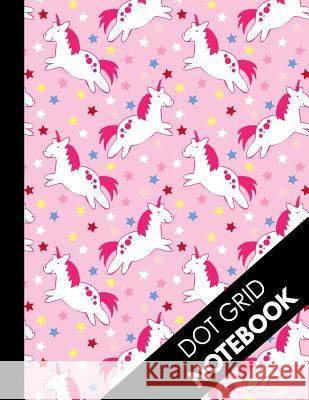 Dot Grid Notebook: Cute Pink Unicorn Pattern Dot Grid Journal: Large Dotted Paper Book ( Unicorn Horse Bullet Grid Notebook ) Dot Paper Press 9781081285654