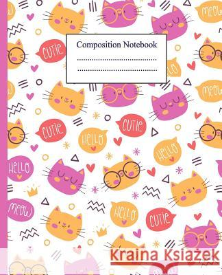Composition notebook: Composition Notebook 7.5*9.25 in. 110 pages. wide ruled. Rebecca Jones 9781083028037