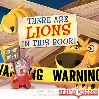 There's a Lion in This Book! Dandi Mackall Christian Cornia 9781087730400