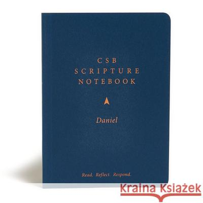CSB Scripture Notebook, Daniel: Read. Reflect. Respond. Csb Bibles by Holman 9781087731179
