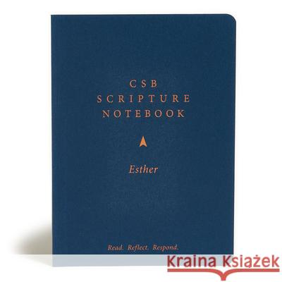 CSB Scripture Notebook, Esther: Read. Reflect. Respond. Csb Bibles by Holman 9781087731223