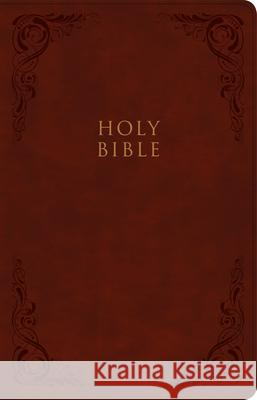 KJV Large Print Personal Size Reference Bible, Burgundy Leathertouch Holman Bible Staff 9781087743004