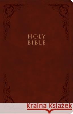 KJV Large Print Personal Size Reference Bible, Burgundy Leathertouch, Indexed Holman Bible Staff 9781087743011