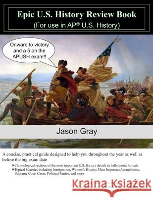 Epic U.S. History Review Book Jason Gray 9781088772294