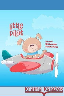 Little Pilot: 120 Pages Bordered Drawing Pad Ideal For Kids. Sarah Midrange Publishing 9781089983033