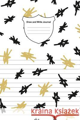 Draw and Write Journal: Dual Design Half Wide Ruled Half Blank Creative Sketchbook with Lined Pages Drawing or Doodling & Writing Journal Note Craig O 9781090198105