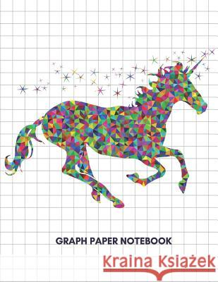 Graph Paper Notebook: Graph Paper Unicorn Composition Notebook/5 X 5 Graph Paper, 100 Pages, 8.5 X 11 A. Journal 9781091065468