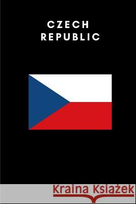 Czech Republic: Country Flag A5 Notebook (6 X 9 In) to Write in with 120 Pages White Paper Journal / Planner / Notepad Katech Journal Publishers 9781091765177