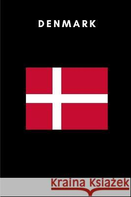 Denmark: Country Flag A5 Notebook (6 X 9 In) to Write in with 120 Pages White Paper Journal / Planner / Notepad Katech Journal Publishers 9781091805262