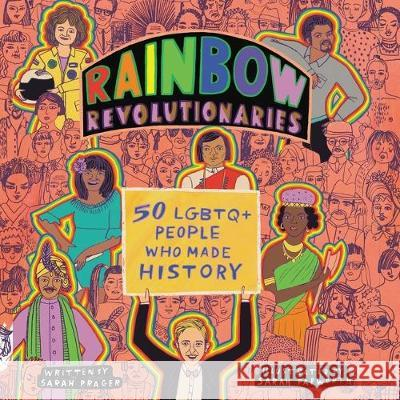 Rainbow Revolutionaries: Forty Lgbtq People Who Made History - audiobook Sarah Prager 9781094159959